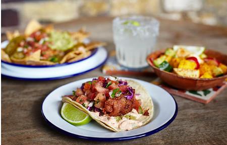 Camden Market food - Cafe Chula taco