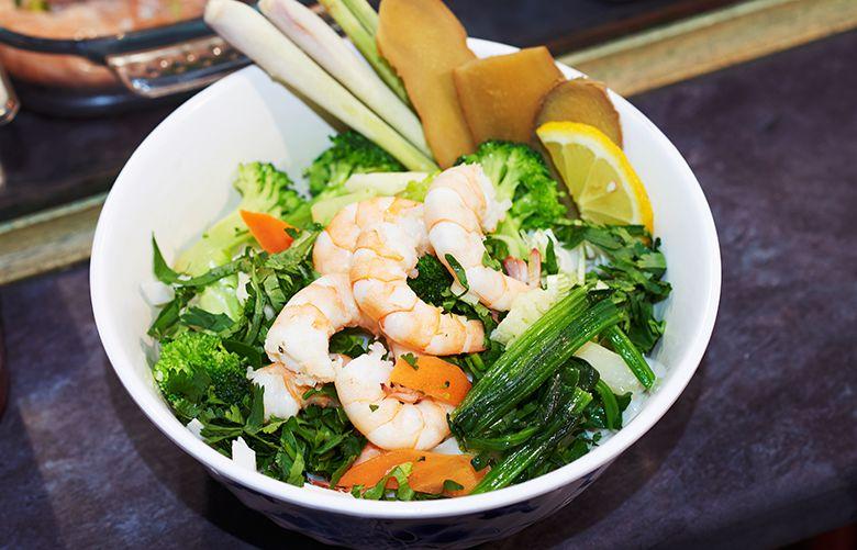 Camden Market food - Kim's Vietnamese Hut
