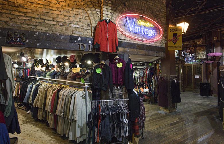 Shops Stalls Camden Market