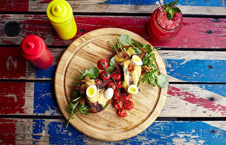 Camden Market food - Lockside Lounge food