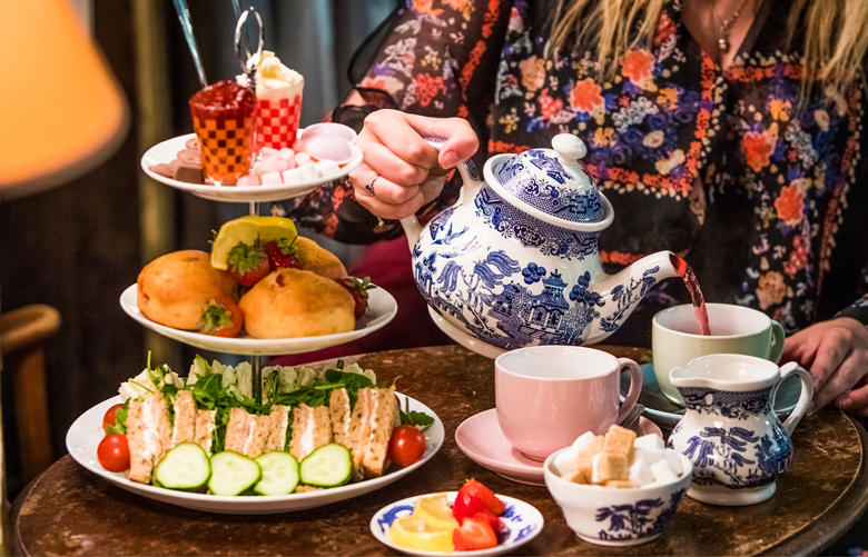 The Basement Tea Room Afternoon Tea In The Heart Of The